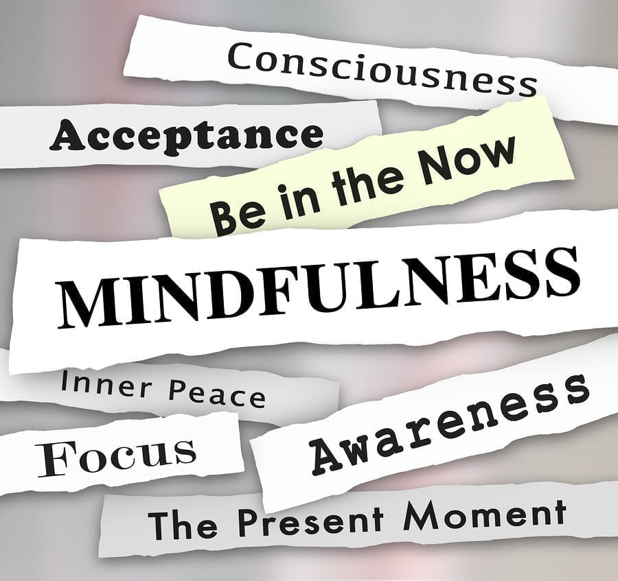 Words including Mindfulness