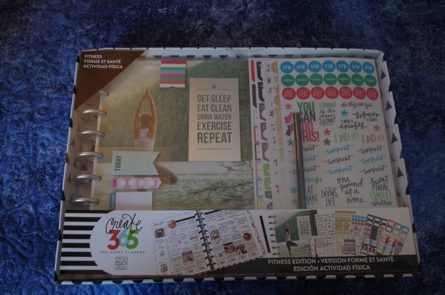 Review Of The Happy Planner Fitness Box Kit: Newbie Perspective