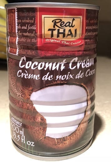 coconut milk in hot for food nacho cheese