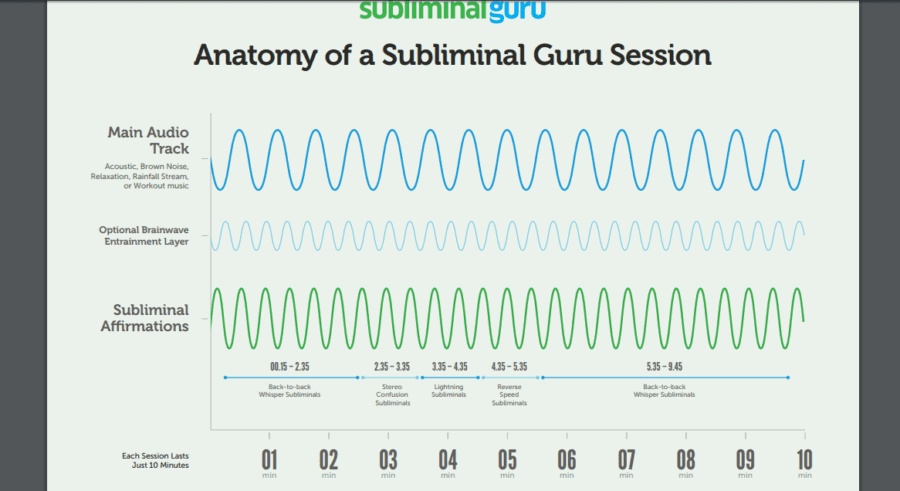 Subliminal Guru Anatomy