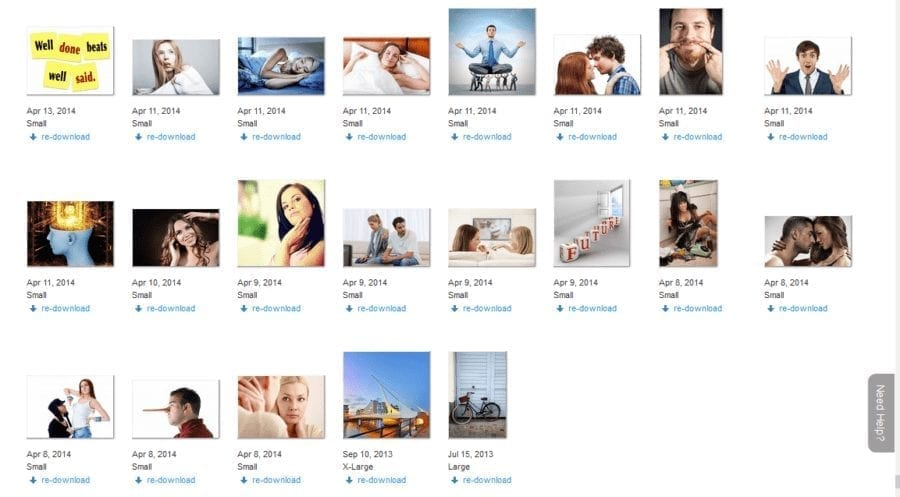 First pictures I downloaded on Bigstock
