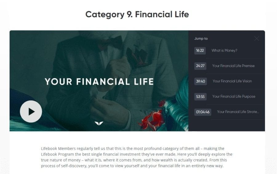 Financial Lifebook Online