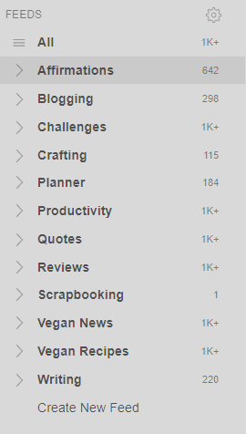 How And Why I Use Feedly To Stay Up To Date With Blogs And Topics