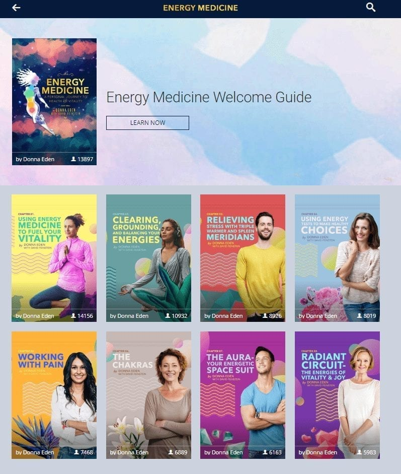 Energy Medicine Screenshot