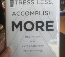 Stress Less Accomplish More book Review