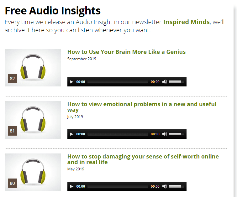 Hypnosis Downloads Growth Zone Audio Insights Screenshot