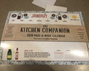 Kitchen Companion Calendar