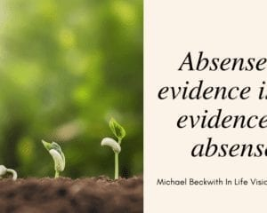 Michael Beckwith Quote