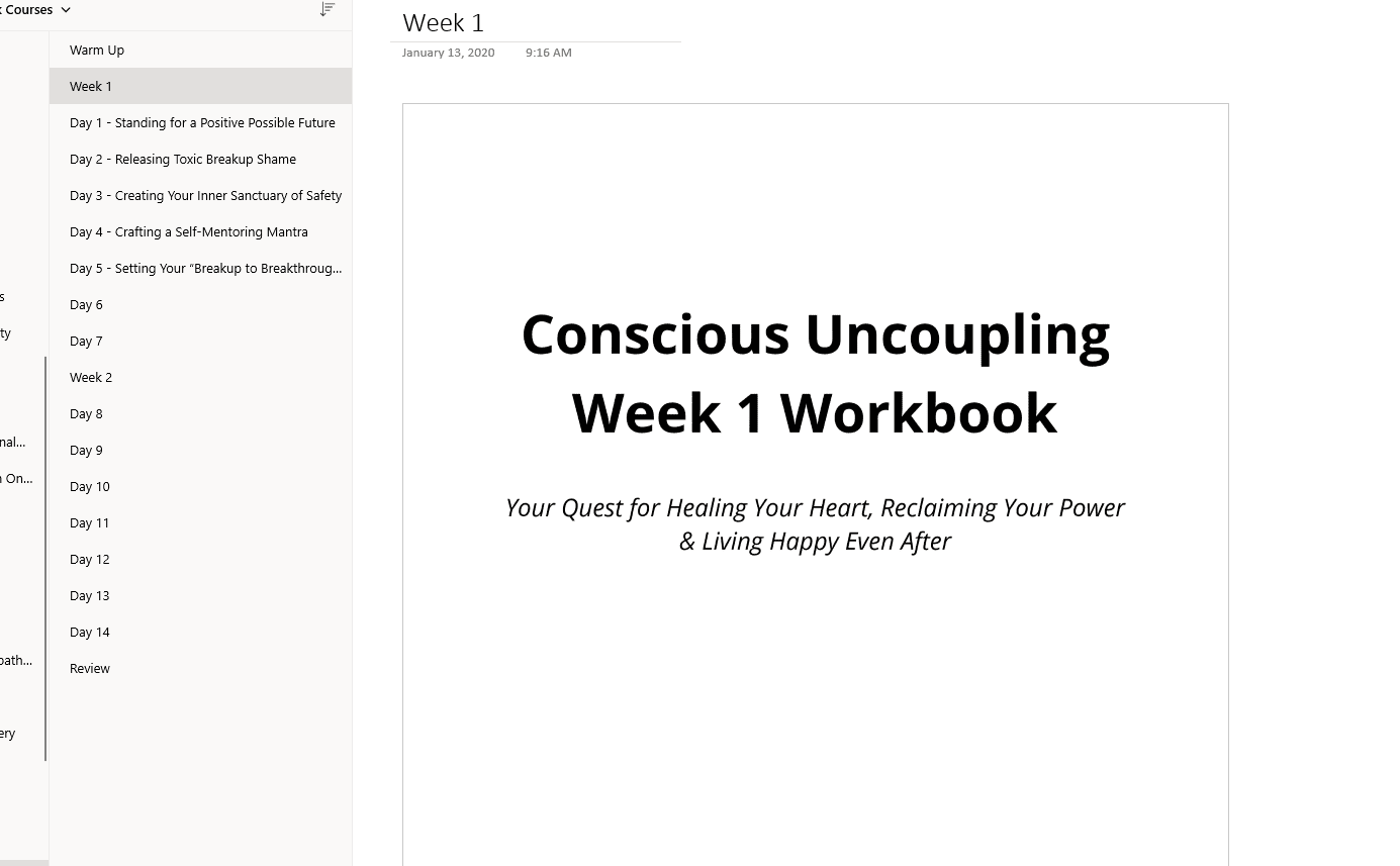 week by week notebook mindvalley quest workbook