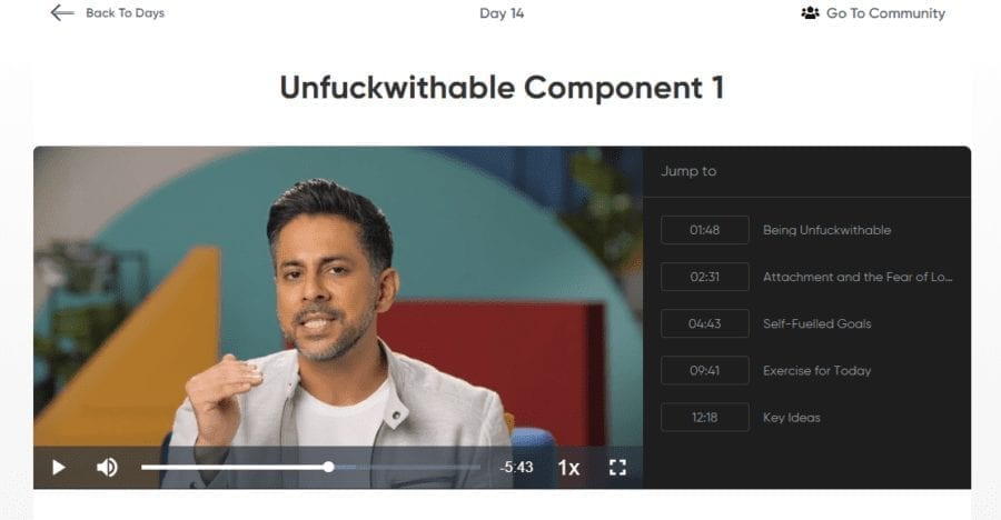 Unfuckwithable Vishen Be Extraordinary