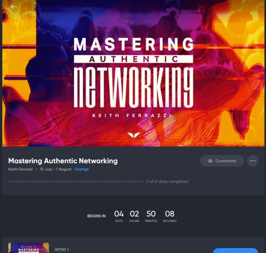 Mastering Authentic Networking Quest