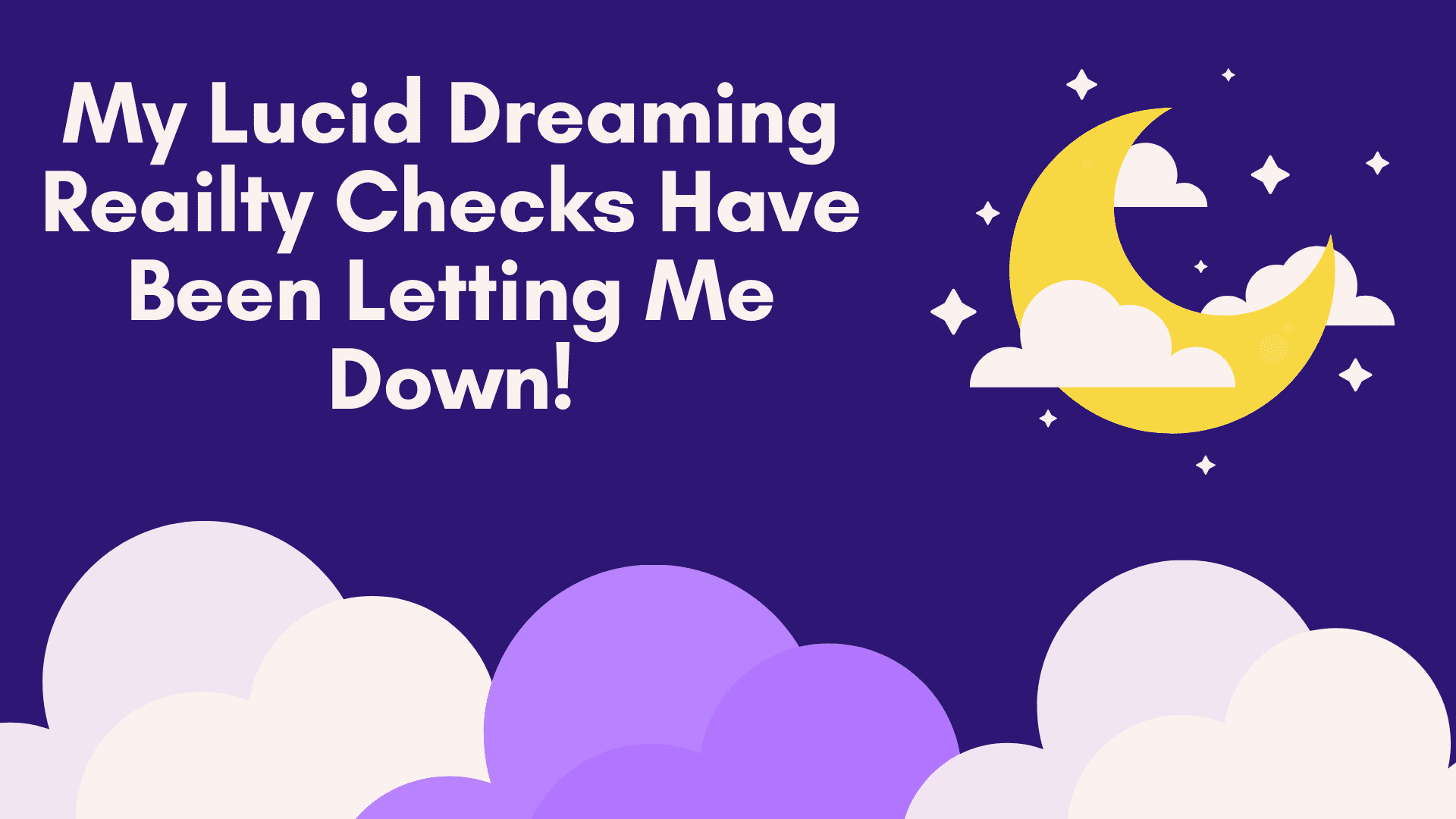 lucid dreaming reality checks