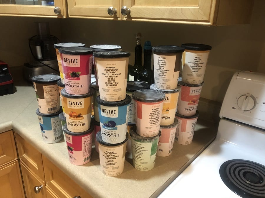 Revive Superfoods Smoothie Cup Haul