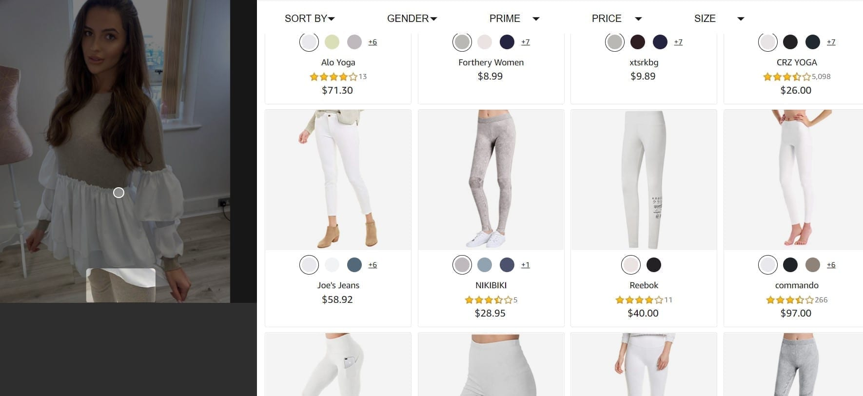How I'm Using Amazon's StyleSnap To Find Clothes I Like In Canada