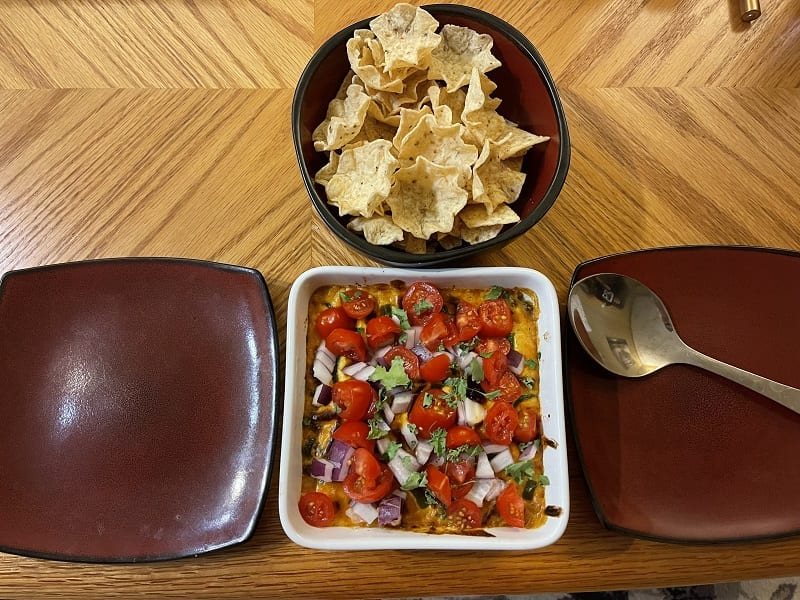 Trying PC's Vegan Southwest Queso-Style Dip In A Heat Wave