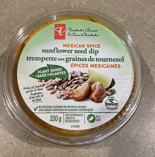 PC Mexican Spice Sunflower Seed Dip
