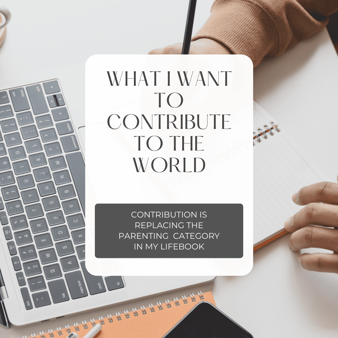 What I Want To Contribute To The World