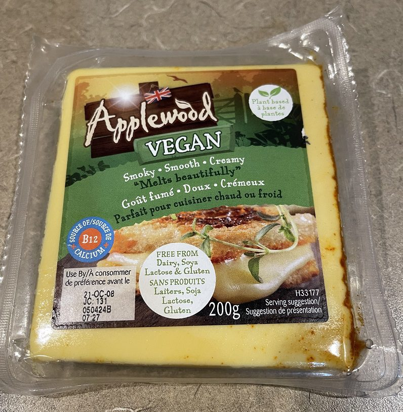 Applewood: The Best Coconut Oil Based Vegan Cheese I've Tried
