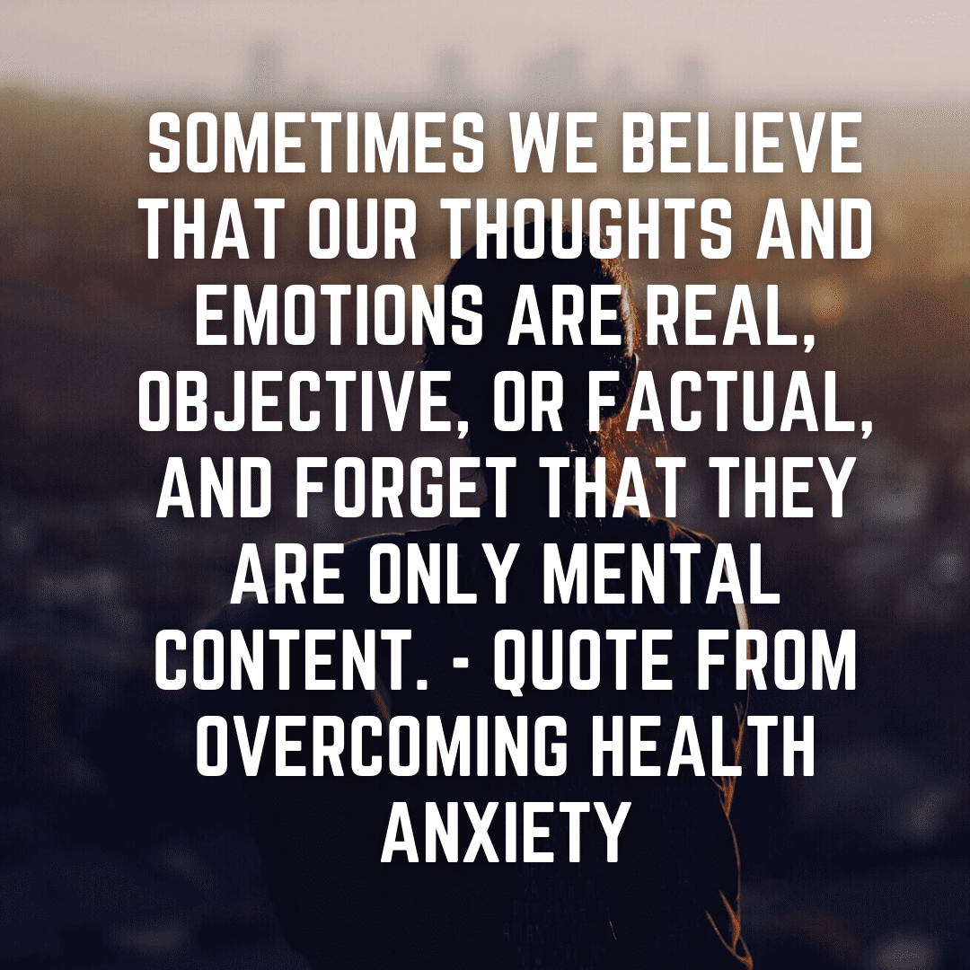 How Overcoming Health Anxiety Helped Me: Book Review